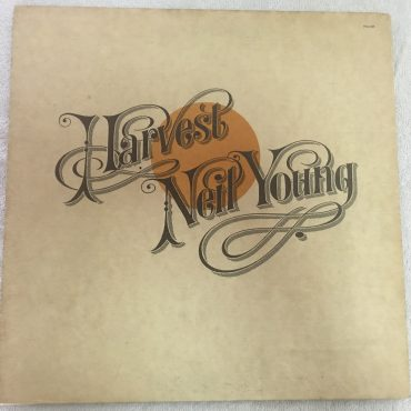 Neil Young ‎– Harvest, Japan Press Vinyl LP, Reprise Records ‎– P-8120R, 1972, no OBI