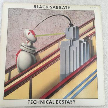 Black Sabbath – Technical Ecstasy, Japan Press Vinyl LP, Vertigo – RJ-7174, 1976, no OBI