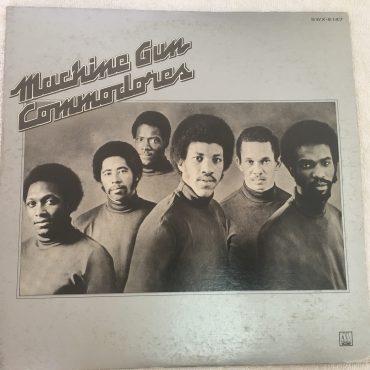 Commodores – Machine Gun, Japan Press Vinyl LP, Tamla Motown – SWX-6147, 1974, no OBI