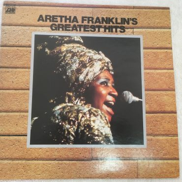 Aretha Franklin ‎– Aretha Franklin's Greatest Hits, Japan Press Vinyl LP,  Atlantic ‎– FCPA-1012, 1976, no OBI