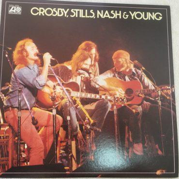 Crosby, Stills, Nash & Young – Crosby, Stills, Nash & Young, Japan Press Vinyl LP, Atlantic – FCPA 1033, 1976, no OBI