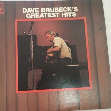 Dave Brubeck – Dave Brubeck's Greatest Hits, Japan Press Vinyl LP, CBS/Sony – FCPA-15, no OBI