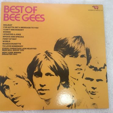 Bee Gees ‎– Best Of Bee Gees, Japan Press Vinyl LP, RSO ‎– MW 2113, 1973, no OBI