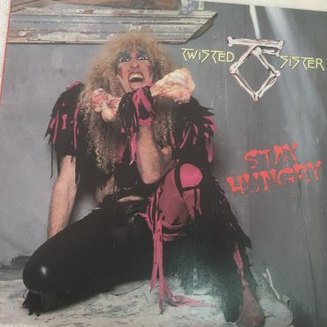 Twisted Sister ‎– Stay Hungry, Japan Press Vinyl LP, Atlantic ‎– P-11492, 1984, no OBI