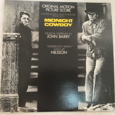 Various ‎– Midnight Cowboy (Original Motion Picture Score), Japan Press Vinyl LP, United Artists Records ‎– GXH-6019, 1975, no OBI