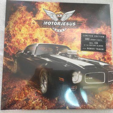 Motorjesus – Wheels Of Purgatory, Brand New Vinyl LP, Drakkar Records – 46996, 2010, Germany