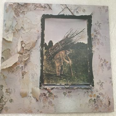 Led Zeppelin, Led Zeppelin IV, Japan Press Vinyl LP,  Atlantic – P-10125A, 1976, no OBI, Gatefold