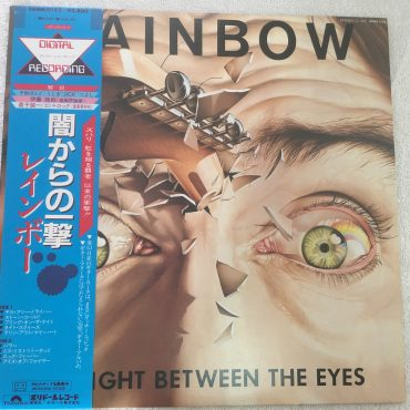 Rainbow ‎– Straight Between The Eyes, Japan Press Vinyl LP, Polydor ‎– 28MM 0152, 1982, with OBI