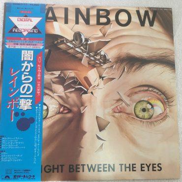 Rainbow – Straight Between The Eyes, Japan Press Vinyl LP, Polydor – 28MM 0152, 1982, with OBI
