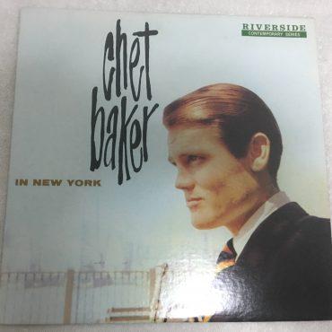 Chet Baker – In New York, Vinyl LP,  Original Jazz Classics – OJC-207, 1985, USA