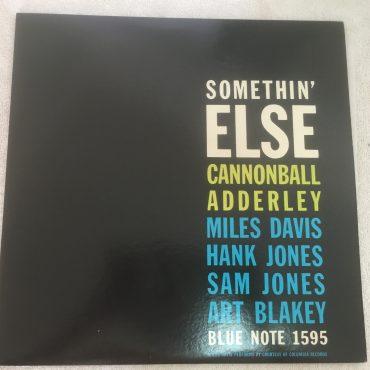 Cannonball Adderley, Somethin' Else, Japan Press Vinyl LP, Blue Note – GXK 3001, 197, no OBI