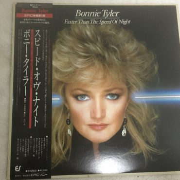 Bonnie Tyler ‎– Faster Than The Speed Of Night, Japan Press Vinyl LP, Epic ‎– 25•3P-441, 1983, with OBI