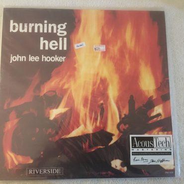 John Lee Hooker – Burning Hell, Brand New 2x Vinyl LP, Limited Edition No. 0935, Analogue Productions – AJAZ 008, 2009, USA
