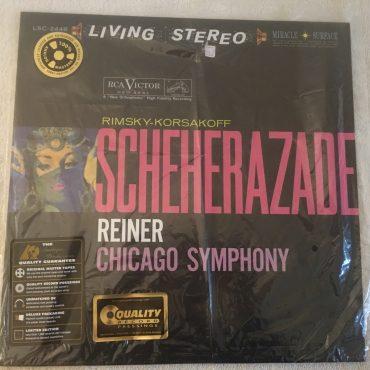Rimsky-Korsakoff* / Fritz Reiner / Chicago Symphony Orchestra – Scheherazade, Vinyl LP, Analogue Productions – AAPC 2446, 2013, USA