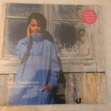 Stina Nordenstam – And She Closed Her Eyes, Vinyl LP, Telegram Records Stockholm – 5054196-1111-1-3, 2014, Sweden