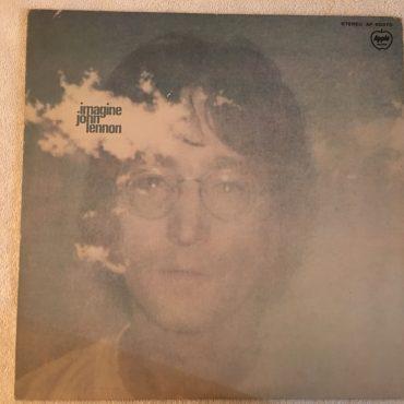 John Lennon, Imagine, Japan Press Vinyl LP, Apple Records AP-80370, no OBI, 1973