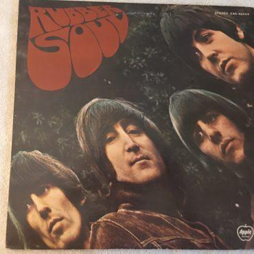Beatles, Rubber Soul, Japan Press Vinyl LP, Apple Records – EAS-80555, 1976, no OBI