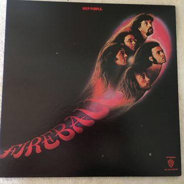 Deep Purple – Fireball, Japan Press Vinyl LP,  Warner Bros. Records – P-10109W, 1976, no OBI