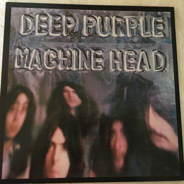 Deep Purple, Machine Head, Japan Press Vinyl LP, Warner Bros. Records – P-6507W, 1981, no OBI