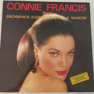 Connie Francis – Sings Bacharach, Kaempfert, Last & Mancini, Vinyl LP,  Polydor – 2391 454, 1979, Hong Kong