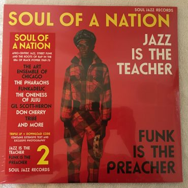 Various ‎– Soul Of A Nation 2 (Jazz Is The Teacher Funk Is The Preacher: Afro-Centric Jazz, Street Funk And The Roots Of Rap In The Black Power Era 1969-75),...