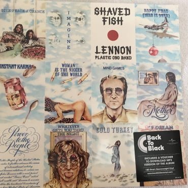 Lennon / Plastic Ono Band ‎– Shaved Fish, Brand New Vinyl LP, Apple Records ‎– 535 111-2, 2014, Europe