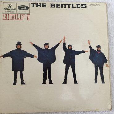 Beatles – Help!, Mono Vinyl LP, 1st press, Matrix XEX 549/50-2, Yellow Parlophone – PMC 1255, 1965, UK