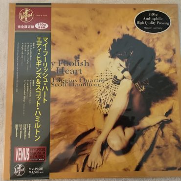 Eddie Higgins Quartet – My Foolish Heart, Brand New Vinyl LP, Limited Edition, Venus Records – MVLP1001, 2015, Germany, with OBI