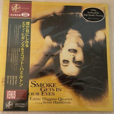 Eddie Higgins Quartet – Smoke Gets In Your Eyes, Brand New Vinyl LP, Venus Records – MVLP1002, 2015, Germany, with OBI