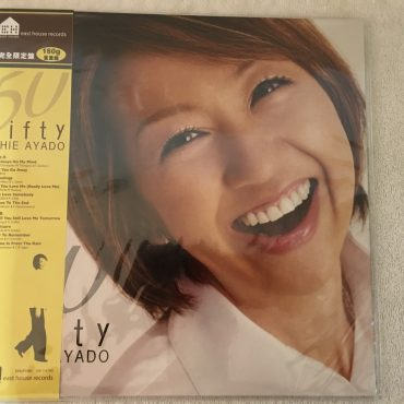 Chie Ayado – 50 Fifty, Brand New Japan Press Vinyl LP, East House Records – EHLP 1001, 2014, with OBI