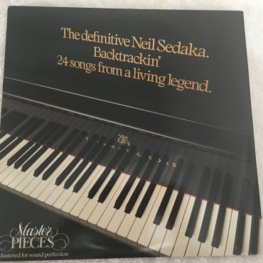 Neil Sedaka ‎– Backtrackin', 2x Vinyl LP, Starblend Records Ltd. ‎– TRACK 2, 1986, UK
