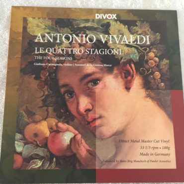 Giuliano Carmignola – Vivaldi: The Four Seasons, Vinyl LP, Silk Road Music – SRM014LP, 2012, Germany