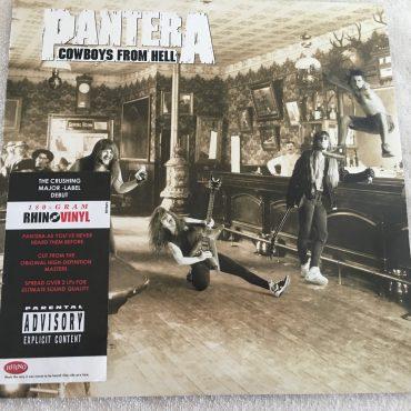 Pantera – Cowboys From Hell, 2x Vinyl LP, Rhino Records – R1 91372, 2010, USA