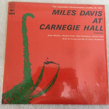 Miles Davis – Miles Davis At Carnegie Hall, Japan Press Mono Vinyl LP, CBS/Sony – SOPZ 24, 1973, no OBI