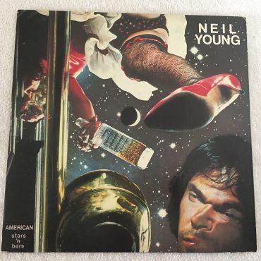 Neil Young – American Stars 'N Bars, Japan Press Vinyl LP, Reprise Records – P-10297R, 1977, no OBI
