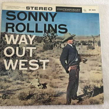 Sonny Rollins ‎– Way Out West, Japan Press Vinyl LP, Contemporary Records ‎– SR-3025, 1969, no OBI