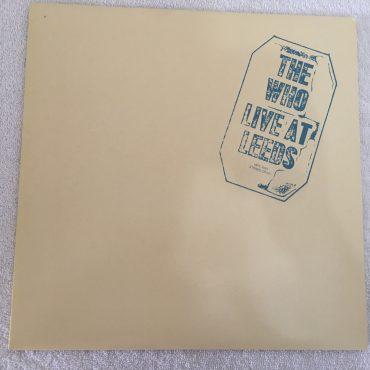 Who – Live At Leeds, Japan Press Vinyl LP,  Polydor – MPX 4021, 1980, no OBI