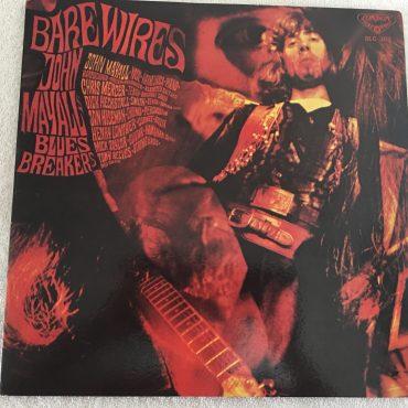 John Mayall & The Bluesbreakers – Bare Wires, Japan Press Vinyl LP, London Records – SLC 302, 1970, no OBI