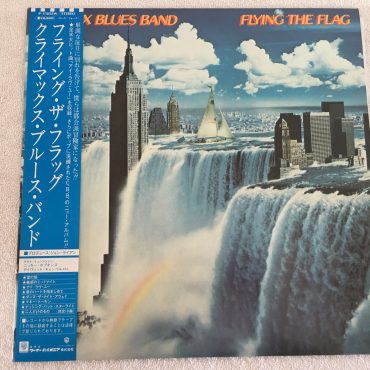 Climax Blues Band ‎– Flying the Flag, Japan Press Vinyl LP, Warner Bros. Records ‎– P-11052W, 1980, with OBI