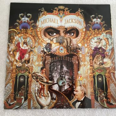 Michael Jackson ‎– Dangerous, 2 x Vinyl LP, Epic ‎– E2 45400, 1991, USA