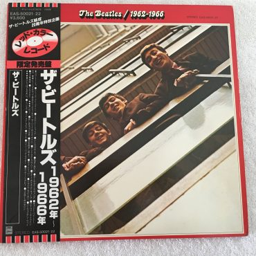 Beatles – 1962-1966, Japan Press 2x Red Vinyl LP, Odeon – EAS-50021-22, 1982, with OBI