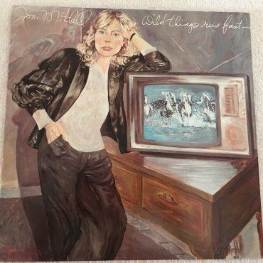 Joni Mitchell – Wild Things Run Fast, Vinyl LP, Geffen Records – GHS 2019, 1982, USA