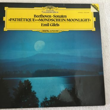 Beethoven – Emil Gilels ‎– Sonaten – Pathetique Mondschein/Moonlight, Vinyl LP, Limited Editon, Deutsche Grammophon ‎– 2532 008, 1981, Germany