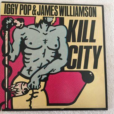 Iggy Pop & James Williamson – Kill City, Vinyl LP, Visa Records – IMR 1018, 1978, USA