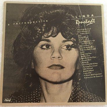 Linda Ronstadt – A Retrospective, 2x Vinyl LP, Capitol Records – CAPSP 102, 1977, UK