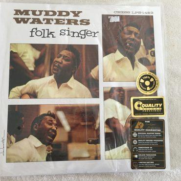 Muddy Waters, Folk Singer, Brand New 2 x Vinyl LP, Analogue Productions – APB 1483-45, Universal Music Special Markets – B0015121-01, 2011, USA, Gatefold