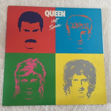Queen ‎– Hot Space, Japan Press Vinyl LP, Elektra ‎– P-11204, 1982, no OB