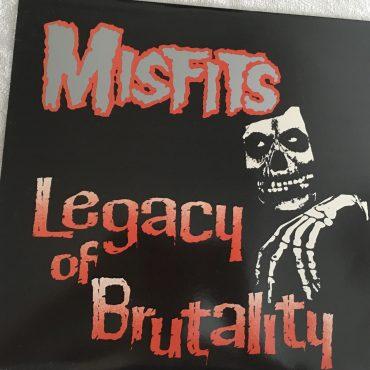 Misfits – Legacy Of Brutality, Vinyl LP, 1st Pressing, Plan 9 – PL9-06, 1985, USA