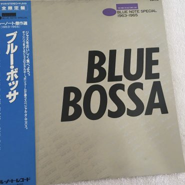 Various ‎– Blue Bossa – Blue Note Special 1963-1965, Japan Press Vinyl LP, Blue Note ‎– K18P 9128, 1982, with OBI
