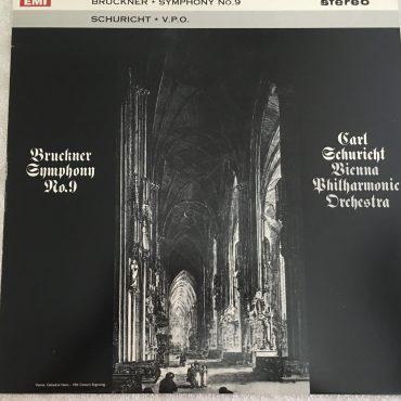 Bruckner – V.P.O., Schuricht – Symphony No.9, Vinyl LP, EMI – ASD 493, UK